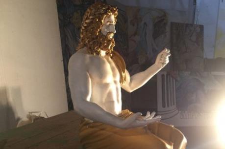 Phục dựng tượng thần Zeus cổ bằng công nghệ 3D