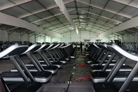 OLYMPIC 2016: Phòng tập gym hiện đại hàng đầu thế giới