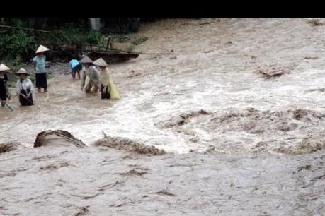 Cảnh báo áp thấp nhiệt đới gây mưa lũ trên các sông từ Hà Tĩnh-Bình Định và Tây Nguyên