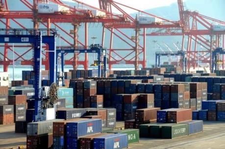 Kim ngạch thương mại toàn cầu sụt giảm