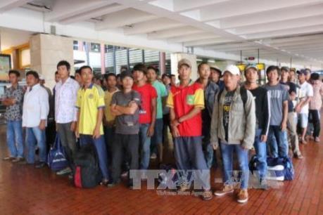 228 ngư dân được Indonesia trao trả đã về nước an toàn