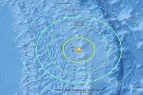 Động đất mạnh ở Nam Thái Bình Dương