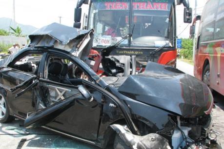 Tai nạn giao thông nghiêm trọng ở Bắc Kạn: 5 người bị thương