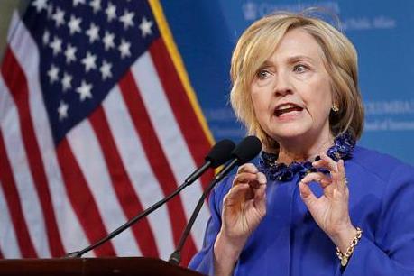 """Bà Hillary sẽ nói """"không"""" với TPP nếu đắc cử Tổng thống Mỹ"""
