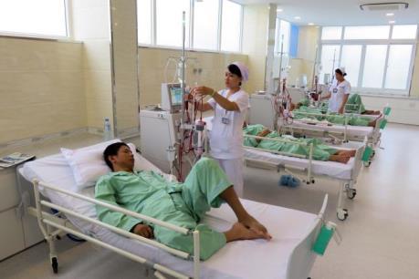 Đưa vào hoạt động trung tâm lọc máu kỹ thuật cao tại Tp Hồ Chí Minh