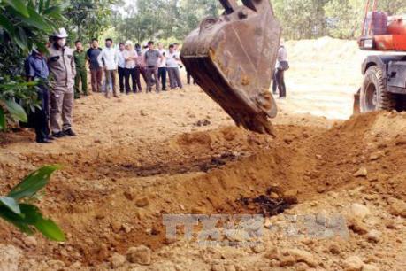 Công ty TNHH Chin Well Fasteners Việt Nam vi phạm về xả thải và chôn chất thải trái phép