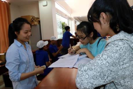 Tuyển sinh đợt 1: Nhiều trường có số hồ sơ đăng ký xét tuyển vượt chỉ tiêu
