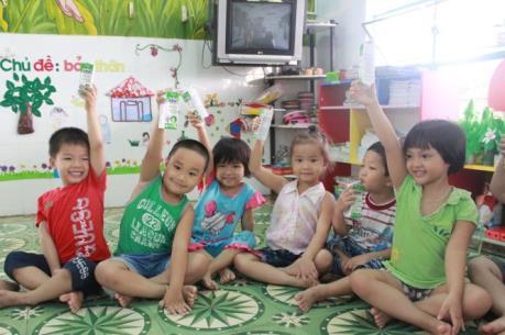 Đà Nẵng: Huyện Hòa Vang thu hồi công văn sử dụng sữa trong các trường mầm non
