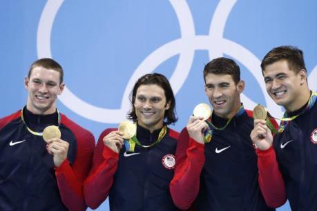 Michael Phelps có thể giải nghệ sau Huy chương vàng đồng đội 400m
