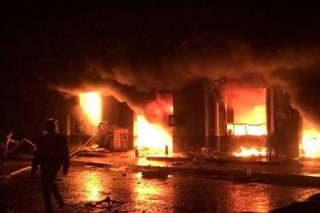 Quảng Ninh: Cháy xưởng gỗ, thiệt hại hàng trăm triệu đồng