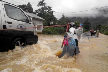 CẢNH BÁO: Nguy cơ ngập úng và sạt lở đất tại các tỉnh miền núi phía Bắc