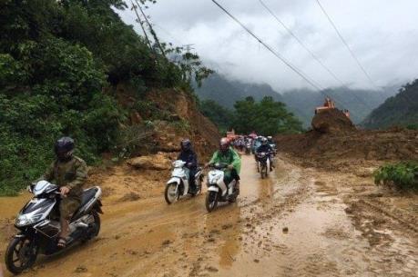 Quốc lộ 6 đã thông tuyến sau ảnh hưởng mưa lũ