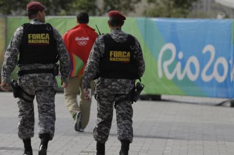 OLYMPIC 2016: Phát hiện túi nghi chứa bom tại địa điểm thi đấu