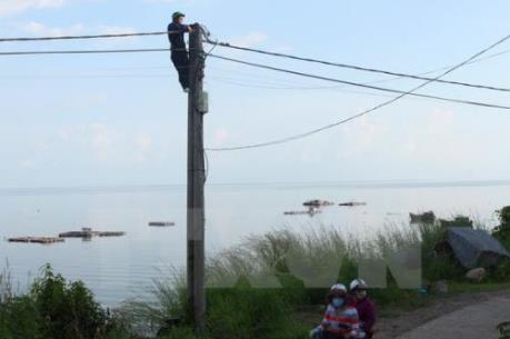 Hai xã đảo Lại Sơn và Hòn Nghệ chuẩn bị đón điện lưới quốc gia