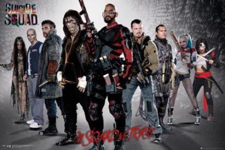 """Top 10 phim ăn khách: Đội quân cảm tử """"Suicide Squad"""" vẫn giữ vững sức mạnh"""