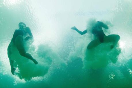 Hy hữu: Đổ nhầm dung dịch hóa học vào bể bơi tại Olympic 2016