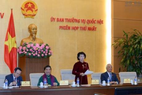 Khai mạc Phiên họp thứ hai của Ủy ban Thường vụ Quốc hội khóa XIV