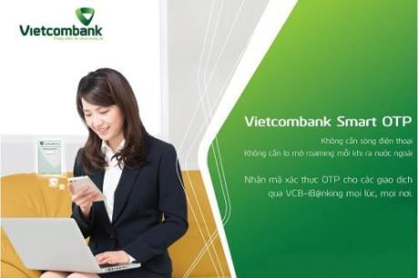 Vietcombank thay đổi dịch vụ Smart OTP