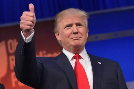 Bầu cử Mỹ 2016: Ứng cử viên đảng Cộng hòa Donald Trump vượt lên dẫn trước