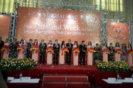 Khai mạc Tuần lễ Thái Lan 2016 tại Hà Nội