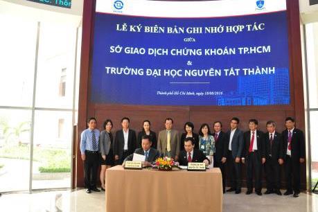 HOSE và Trường Đại học Nguyễn Tất Thành thúc đẩy hợp tác