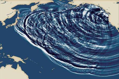 Động đất mạnh làm rung chuyển Nam Đại Tây Dương