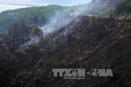 Liên tiếp xảy ra cháy ở khu vực Nam Hải Vân, Đà Nẵng
