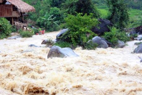 Tin lũ khẩn cấp trên sông Thao và lũ, sạt lở đất ở Bắc Bộ, Thanh Hóa