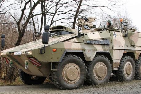 Litva ký hợp đồng mua 88 xe bọc thép Boxer của Đức