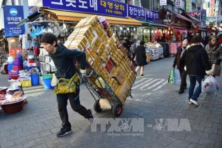 Hàn Quốc: Xuất khẩu giảm trong tháng thứ 20 liên tiếp