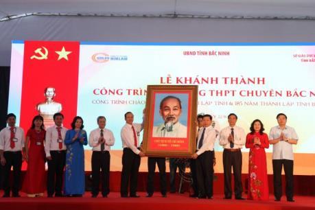 Bắc Ninh khánh thành ngôi trường hiện đại bậc nhất Việt Nam