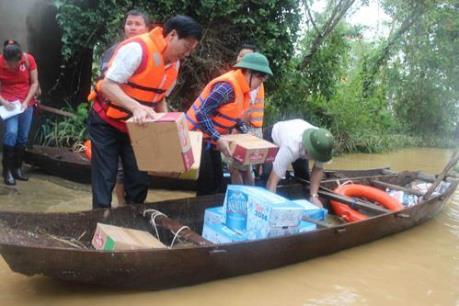 Bộ Y tế hỗ trợ các tỉnh bị thiệt hại do mưa lũ gây ra