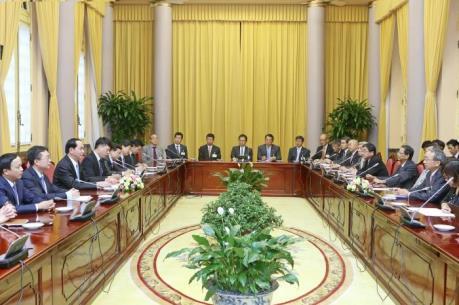 Chủ tịch nước: Quan hệ Việt-Nhật đang trong giai đoạn phát triển tốt đẹp nhất