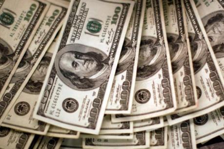 Tỷ giá trung tâm ngày 24/8 giảm 2 đồng