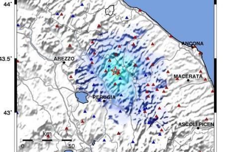 Động đất 6,4 độ Richte ở Italy