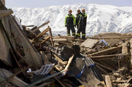 Động đất tại Italy: Một nửa thị trấn Amatrice bị phá hủy