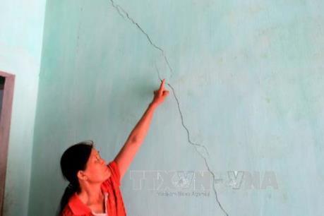 Cao Bằng: Nổ mìn phá đá làm nứt, hỏng nhiều nhà dân
