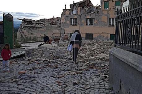 Động đất tại Italy: Ít nhất 6 người thiệt mạng