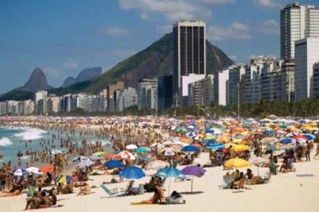 Rio de Janeiro đón 1,17 triệu du khách dịp Olympic 2016