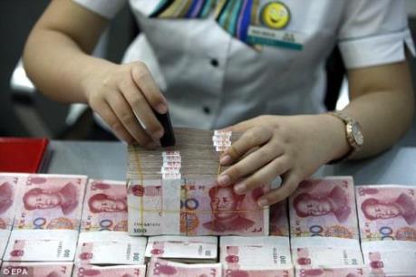 Kho dự trữ ngoại tệ của Trung Quốc chỉ còn 3.166 tỷ USD
