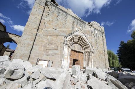 Động đất tại Italy: Chính phủ hỗ trợ vùng bị thiệt hại 234 triệu euro