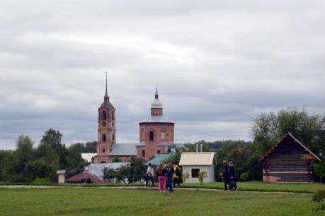 Vẻ đẹp cổ kính của thành phố Suzdan - Liên bang Nga