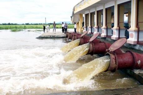 Gần 57% diện tích đã có nước gieo cấy vụ Đông Xuân