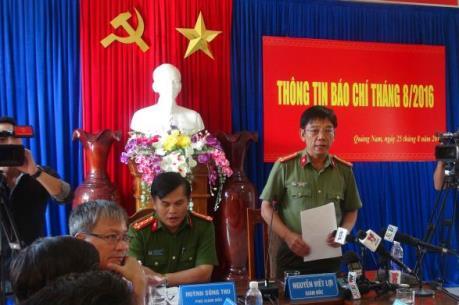Khởi tố 9 bị can trong vụ phá rừng pơ mu tại huyện Nam Giang, Quảng Nam