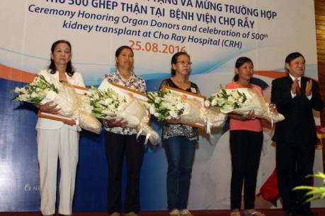 Bệnh viện Chợ Rẫy thực hiện thành công 500 ca ghép thận
