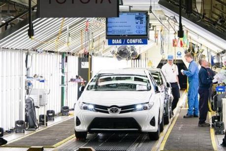 Ngành sản xuất ô tô Anh làm ăn phát đạt