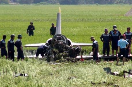 Cứu hộ máy bay quân sự gặp nạn tại Phú Yên