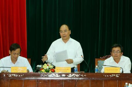 Thủ tướng: Tạo điều kiện để Ninh Thuận chủ động ứng phó thiên tai