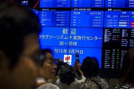 Chứng khoán Nhật Bản chấm dứt hai phiên giảm điểm liên tiếp