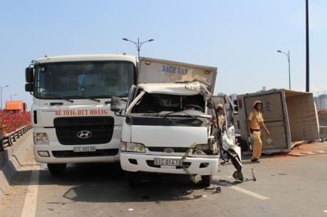 Đắk Nông: Tai nạn liên hoàn trên đường Hồ Chí Minh làm một người chết